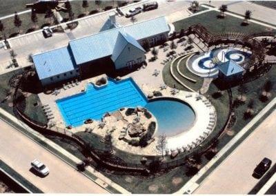 Lantana Amenity Center  Pool, Fountain, and Spray Park